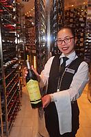 CT- Wine Cellar for Sel De Mer & Pinnacle Grill aboard HAL Koningsdam S. Caribbean Cruise, Caribbean