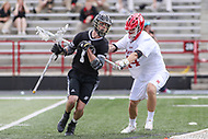 College Park, MD - May 14, 2017: Bryant Bulldogs Tucker James (1) in action during the NCAA first round game between Bryant and Maryland at  Capital One Field at Maryland Stadium in College Park, MD.  (Photo by Elliott Brown/Media Images International)