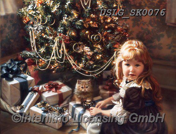 CHRISTMAS CHILDREN, WEIHNACHTEN KINDER, NAVIDAD NIÑOS, paintings+++++,USLGSK0076,#XK# ,Sandra Kock,victorian