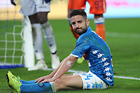Dries Mertens of Napoli reacts during the Serie A 2018/2019 football match between SSC Napoli  and Spal at stadio San Paolo, Napoli, December 22, 2018 <br />  Foto Cesare Purini / Insidefoto