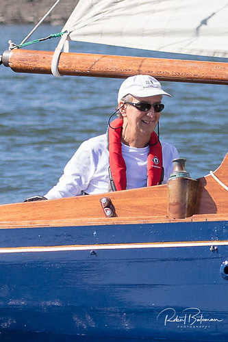 Pat Murphy is particularly appreciative of the pleasure of restoring and sailing the boat his grandfather built