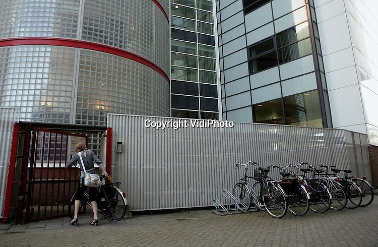 Foto: VidiPhoto..GOUDA - Reisgedrag rond wetenschappelijke proef Spitsmijden Gouda-Den Haag