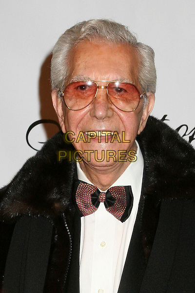 "MR. BLACKWELL.17th Annual ""Night of 100 Stars"" Oscar Gala at the Beverly Hills Hotel, Beverly Hills, California , USA. .February 25th, 2007.headshot portrait bow tie glasses tinted .CAP/ADM/BP.©Byron Purvis/AdMedia/Capital Pictures"