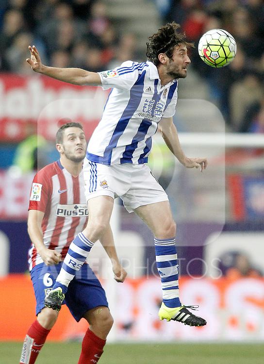 Real Sociedad's Esteban Granero during La Liga match. March 1,2016. (ALTERPHOTOS/Acero)