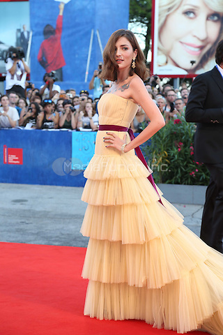 Eleanora Carisi attend the premiere of 'The Light Between Oceans' during the 73rd Venice Film Festival at Sala Grande on September 1, 2016 in Venice, Italy.<br /> CAP/GOL<br /> &copy;GOL/Capital Pictures /MediaPunch ***NORTH AND SOUTH AMERICAS ONLY***