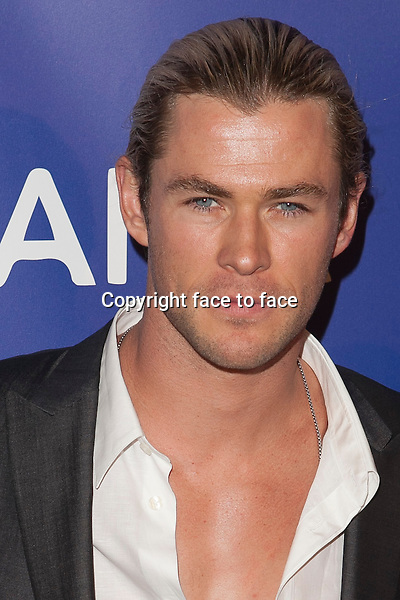 Chris Hemsworth attends the Inaugural Oceana Ball hosted by Christie's at Christie's on April 8, 2013 in New York City. ..Credit: MediaPunch/face to face..- Germany, Austria, Switzerland, Eastern Europe, Australia, UK, USA, Taiwan, Singapore, China, Malaysia and Thailand rights only -