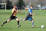 Premier League Nelson Suburbs v Universities. Saxton Field, Nelson, New Zealand. Sunday 13 July 2014. Photo: Chris Symes/www.shuttersport.co.nz