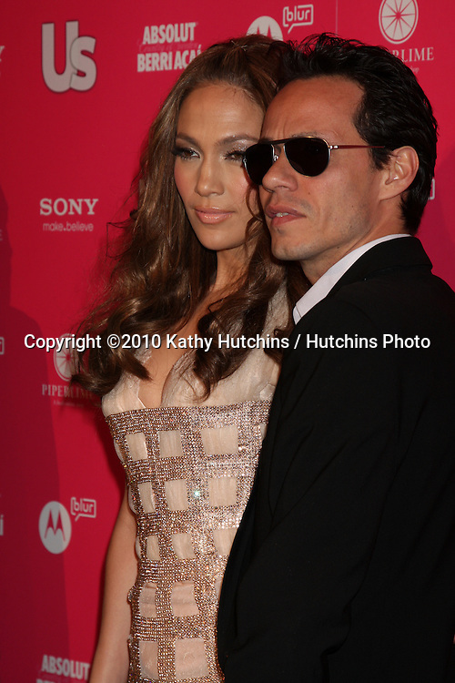 Jennifer Lopez & Marc Anthony.arrives at the US Weekly Hot Hollywood Party 2010.Drai's at the W Hotel Hollywood.Los Angeles, CA.April 22, 2010.©2010 Kathy Hutchins / Hutchins Photo...