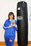 Boxer Deirdre Gogarty pictured at her book signing at Drogheda Boxing club. Photo: Colin Bell/pressphotos.ie