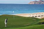 Campo de golf na praia. Los Cabos. México. 2008. Foto de Cris Berger.