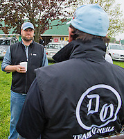 Doug O'Neill, trainer of Goldencents, at Churchill Downs during Derby Week April 29, 2013.