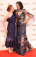 Rosalie Craig, Haydn Gwynne at The Old Vic Bicentenary Ball held at The Old Vic, The Cut, Lambeth, London, England, UK on Sunday13 May 2018.<br /> CAP/MV<br /> &copy;Matilda Vee/Capital Pictures