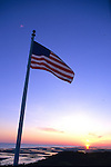Flag At Sunrise
