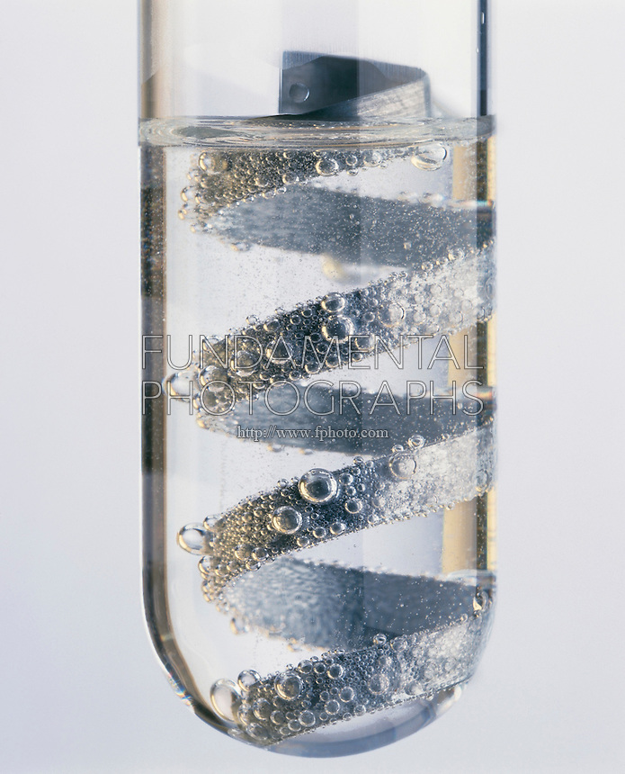 zinc and hydrochloric acid experiment