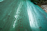 Blue, ice curtains, Munising, Ice formations, ice climbing, winter, ice caves, Michigan