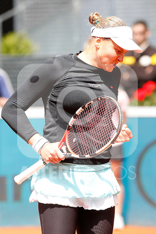 Nadia Petrova during Tennis Madrid Open match, May 14,2010..(ALFAQUI/Alex Cid-Fuentes)