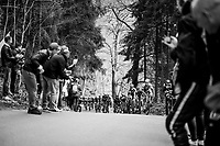 peloton up the (new) Côte de la Ferme Libert<br /> <br /> 103rd Liège-Bastogne-Liège 2017 (1.UWT)<br /> One Day Race: Liège › Ans (258km)