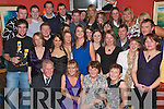 21ST BIRTHDAY: Lisa Dennehy, Lixnaw (seated 2nd left) had a fabulous 21st birthday party in the Brogue Inn, Tralee on Friday night with her parents Pat and Mary and many friends and family.   Copyright Kerry's Eye 2008