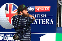 Andrew Johnston (ENG) during the Hero Pro-Am at the Sky Sports British Masters, Walton Heath Golf Club, Surrey, England. 7-10-2018.<br /> Picture Fran Caffrey / Golffile.ie<br /> <br /> All photo usage must carry mandatory copyright credit (© Golffile | Fran Caffrey)