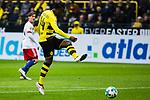 10.02.2018, Signal Iduna Park, Dortmund, GER, 1.FBL, Borussia Dortmund vs Hamburger SV, <br /> <br /> im Bild | picture shows:<br /> Torschuss durch Michy Batshuayi (Borussia Dortmund #44), <br /> <br /> <br /> Foto &copy; nordphoto / Rauch