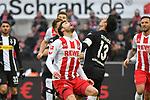 14.01.2018, RheinEnergieStadion, Koeln, GER, 1.FBL., 1. FC K&ouml;ln vs. Borussia M&ouml;nchengladbach<br /> <br /> im Bild / picture shows: <br /> Jonas Hector (FC K&ouml;ln #14),  wartet auf den Ball <br /> <br /> <br /> Foto &copy; nordphoto / Meuter