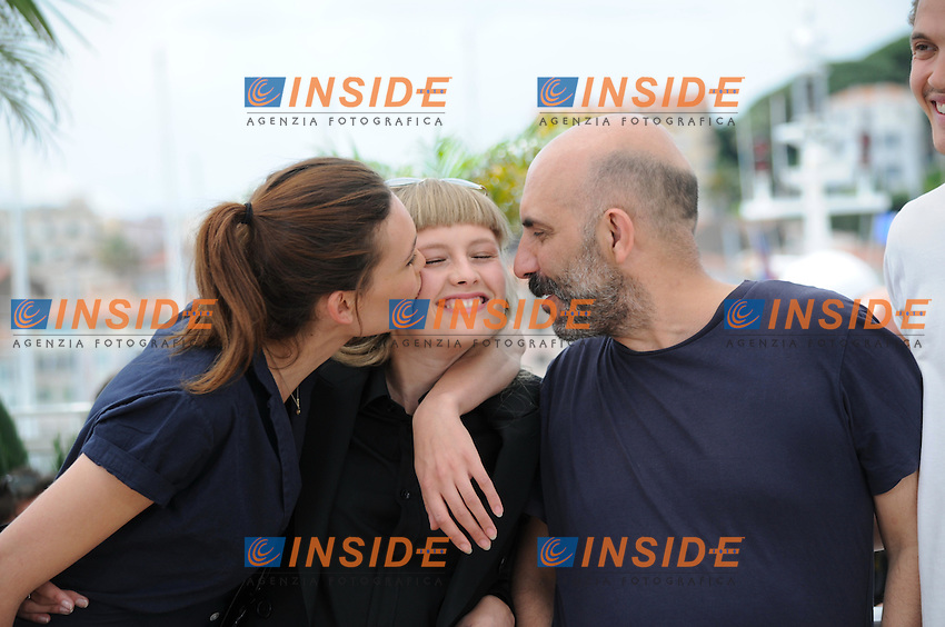 Aomi Muyock -  Klara Kristin - Gaspard Noe <br /> Festival del Cinema di Cannes 2015<br /> Foto Panoramic / Insidefoto