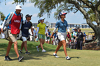 Celine Boutier (FRA) heads down 5 during round 3 of the 2019 US Women's Open, Charleston Country Club, Charleston, South Carolina,  USA. 6/1/2019.<br /> Picture: Golffile | Ken Murray<br /> <br /> All photo usage must carry mandatory copyright credit (© Golffile | Ken Murray)
