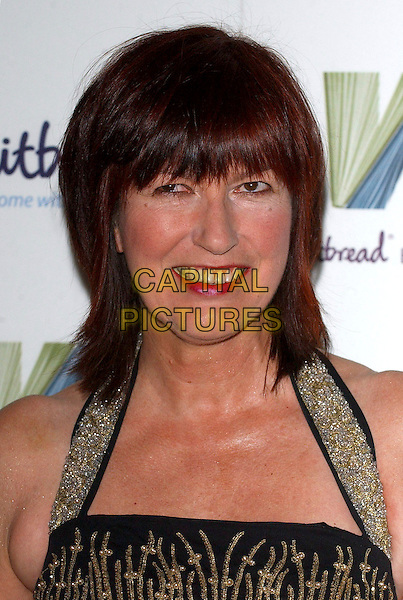 JANET STREET PORTER.The Whitbread Book Of The Year Awards 2005, The Brewery, Chiswell Street, London, UK..January 24th, 2006.Ref: BEL.headshot portrait halterneck sparkly.www.capitalpictures.com.sales@capitalpictures.com.© Capital Pictures.