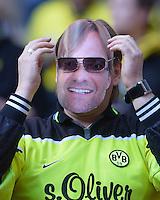 FUSSBALL  CHAMPIONS LEAGUE  SAISON 2012/2013  FINALE  Borussia Dortmund - FC Bayern Muenchen         25.05.2013 Ein BVB-Fan zeigt sich mit einer Juergen Klopp-Kappe