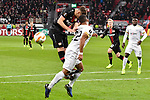 08.11.2018, BayArena, Leverkusen, GER, Europa League, Bayer 04 Leverkusen vs FC Z&uuml;rich, DFL regulations prohibit any use of photographs as image sequences and/or quasi-video <br /> <br /> im Bild Strafraumszene . Torchance von Dominik Kohr (#21, Bayer 04 Leverkusen) li. Kevin R&uuml;egg / Ruegg  (#22, FC Z&uuml;rich / Zuerich) re.<br /> <br /> Foto &copy; nordphoto/Mauelshagen