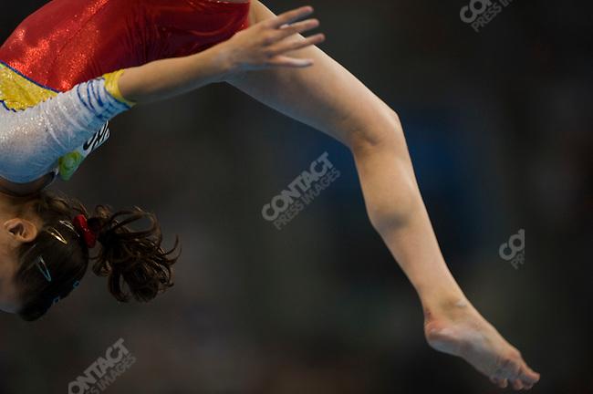 Women's Gymnastics Artistic, (Romania), qualifications, Summer Olympics, Beijing, China, August 10, 2008