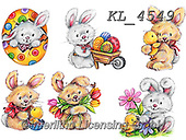 Interlitho-Theresa, EASTER, OSTERN, PASCUA, paintings+++++,rabbits,KL4549,#e#, EVERYDAY ,sticker,stickers
