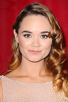 Daisy Wood-Davis<br /> arrives for the British Soap Awards 2016 at Hackney Empire, London.<br /> <br /> <br /> &copy;Ash Knotek  D3124  28/05/2016