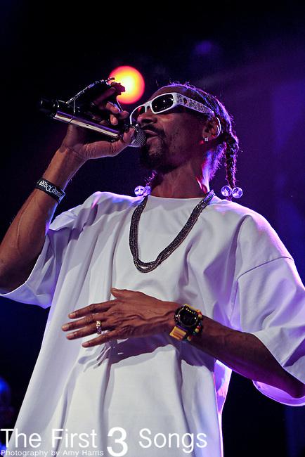Snoop Dogg performs at Bogart's in Cincinnati, Ohio on August 1, 2011.