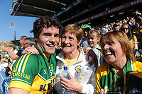 Kerry Minor Tomas O'Se celebrate after winning the 2014 All-Ireland Football Final against Donegal in Croke Park 2014.<br /> Photo: Don MacMonagle<br /> <br /> <br /> Photo: Don MacMonagle <br /> e: info@macmonagle.com