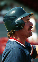 Boston Red Sox Wade Boggs (26) during spring training circa 1992 at Chain of Lakes Park in Winter Haven, Florida.  (MJA/Four Seam Images)