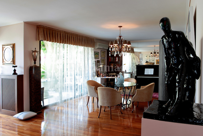 classic wooden dining room