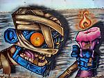 Graffitis Andorra.