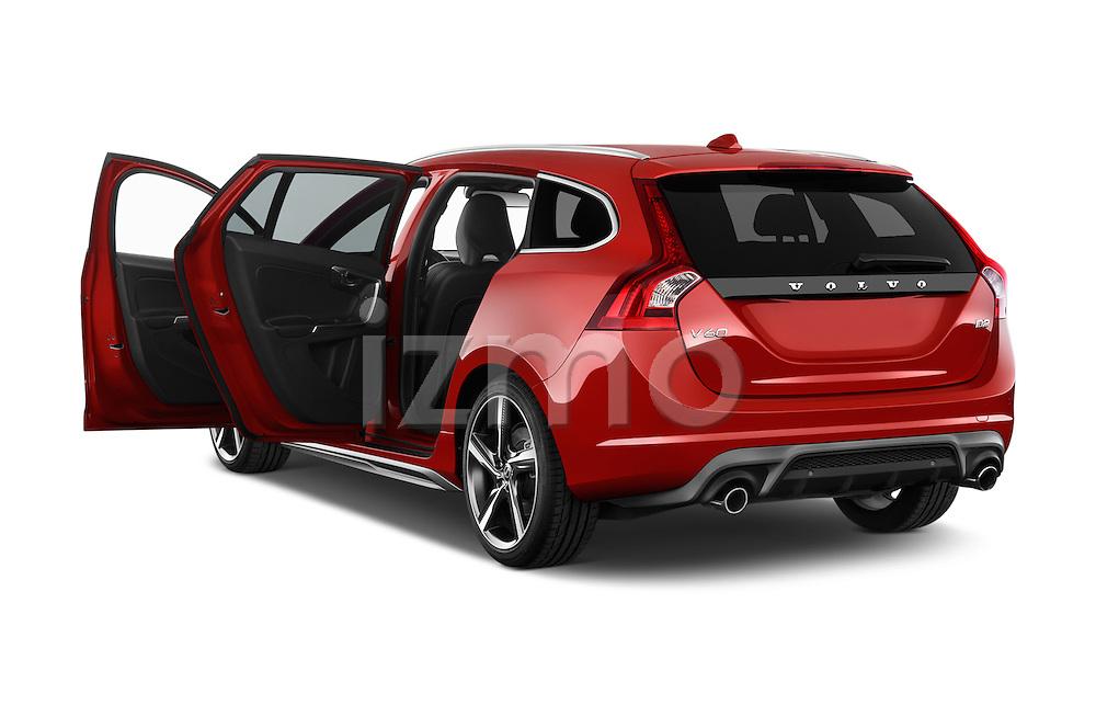 Car images of a 2014 Volvo V60 Summum R-design 5 Door Wagon 2WD Doors