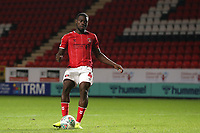 Adedeji Oshilaja of Charlton Athletic scores the fourth penalty for Charlton in the Shoot-out during Charlton Athletic vs Forest Green Rovers, Caraboa Cup Football at The Valley on 13th August 2019