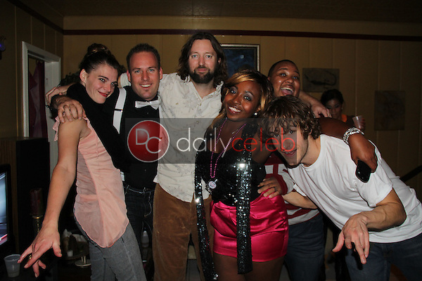 Meagan Sargent and friends<br />