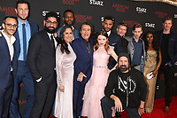 """LOS ANGELES - MAR 5:  American Gods Cast, Omid Abtahi, Pablo Schreiber, Sakina Jaffrey, Mousa Kraish, Ian McShane, Demore Barnes, Emily Browning, Ricky Whittle, Peter Stormare, Crispin Glover, Bruce Langley, Yetide Badak at the """"American Gods"""" Season 2 Premiere at the Theatre at Ace Hotel on March 5, 2019 in Los Angeles, CA"""