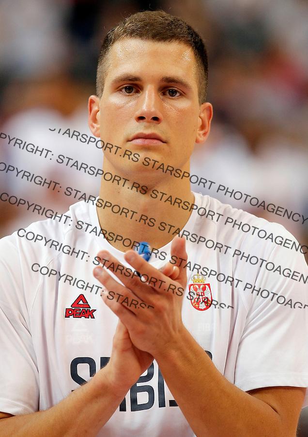 Nemanja Nedovic Kosarka Srbija - Francuska prijateljska 25.6.1016. JUN 25. 2016. (credit image & photo: Pedja Milosavljevic / STARSPORT)