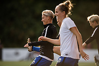 Seattle, WA - Sunday, September 24th, 2017:  Jess Fishlock during a regular season National Women's Soccer League (NWSL) match between the Seattle Reign FC and FC Kansas City at Memorial Stadium.