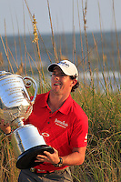 Rory McIlroy (NIR) wins the tournament with a score of -13 at the end of Sunday's Final Round of the 94th PGA Golf Championship at The Ocean Course, Kiawah Island, South Carolina, USA 11th August 2012 (Photo Eoin Clarke/www.golffile.ie)