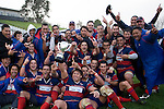 Ardmore Marist are the Counties Manukau Premier Club Rugby Champions & winners of the McNamara cup for 2008. CMRFU Counties Power 2008 Club rugby McNamara Cup Premier final between Ardmore Marist & Patumahoe played at Growers Stadium, Pukekohe on July 26th.  Ardmore Marist won 9 - 8.