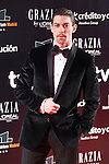 Actor Adrian Lastra attends Goya Cinema Awards 2014 red carpet at Centro de Congresos Principe Felipe on February 9, 2014 in Madrid, Spain. (ALTERPHOTOS/Victor Blanco)
