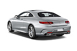 Car pictures of rear three quarter view of a 2015 Mercedes Benz S-Class S550 2 Door Coupe Angular Rear