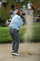 Colin Montgomerie plays his 3rd shot from the bunker on the 14th hole during the final round of the 2008 Open de France Alstom at Golf National, Paris, France June 29th 2008 (Photo by Eoin Clarke/GOLFFILE)