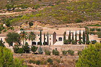 Winery building. Masia Duch. Priorato, Catalonia, Spain